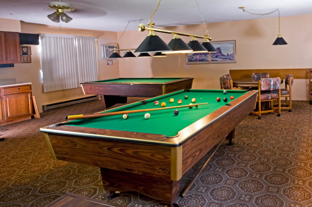 Pool Tables In Our Game Room